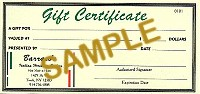 $100 Gift Certificate - Product Image